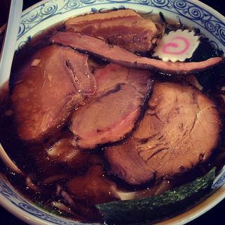 ワンタンチャーシュー麺(エビスヤ )
