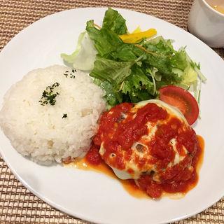 チーズハンバーグ 日替り(洋食ダイニング itsumo)