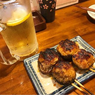 肉詰めしいたけ(のんき 赤羽店 (もつやき のんき))