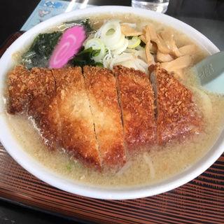 カツ野菜味噌ラーメン(いこい食堂 )