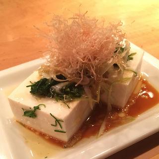 じゃこ葱豆腐(並木橋なかむら )