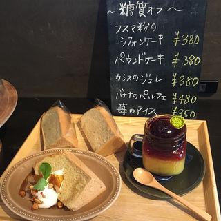 シフォンケーキ・プリン(こころデリ)