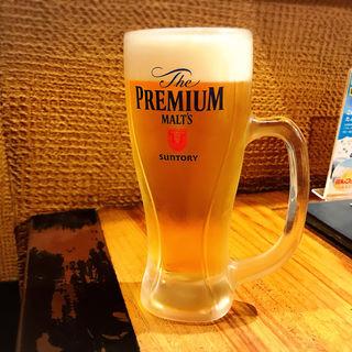 生ビール(博多 一風堂 駒沢公園店 (いっぷうどう))