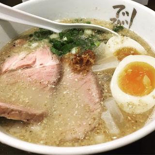 塩とんこつ 味玉チャーシュー麺(でびっと 大和店 )