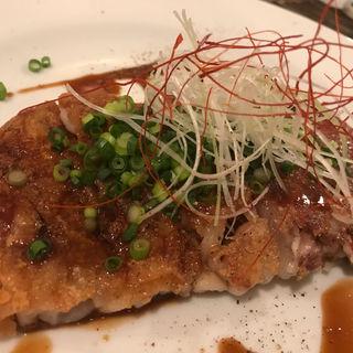 豚足のガレット(イナロ食堂 )