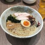 金目鯛の冷製麺