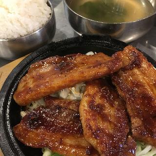 バラステーキ定食(韓豚屋 池袋サンシャインシティ店 (ハンテジヤ))