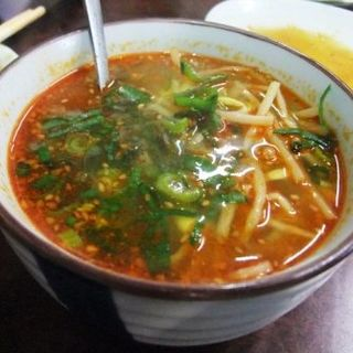 もやしスープ(焼肉・ホルモン・冷麺 杉)