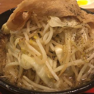 ド根性の醤油 野菜盛り(神戸ちぇりー亭 明石魚住店 )