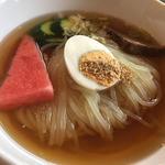 おすすめランチ(小冷麺・カルビ・ロース・ホルモン・ライス)