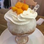 大吟醸薫る宮崎マンゴーミルクショコラ氷