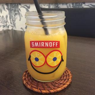 オレンジジュース(たいよう食堂)