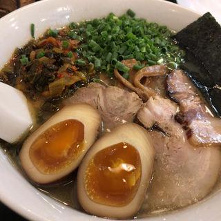 高菜麺(たかなそば)(らーめん茂木)