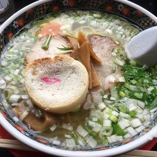 塩ラーメン(麺厨房あじさい 本店)
