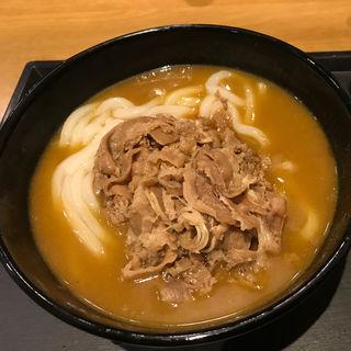 牛カレーうどん(肉追加トッピング)(ウエスト 川端店 )