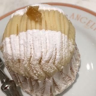 7月限定  レモンモンブラン(サロン・ド・テ・アンジェリーナ マロニエゲート銀座店)