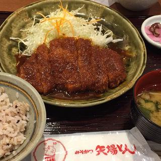 みそカツ定食(矢場とん 大阪松竹座店 )