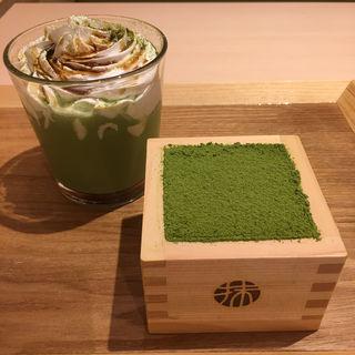 宇治抹茶のティラミス(抹茶館 なんばウォーク店)