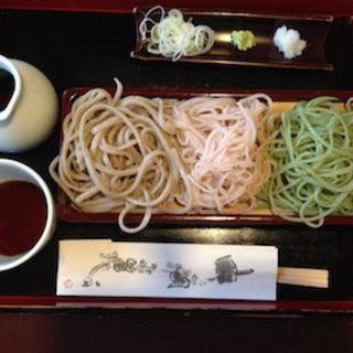 三食蕎麦(さらしな総本店)