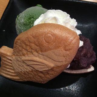 濃い抹茶アイスモナカ(スシロー 四日市インター店 )