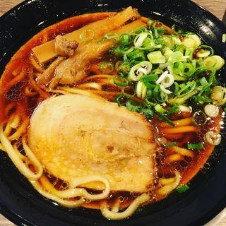 三強醤油太麺(金久右衛門)