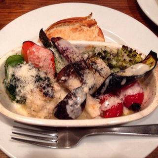 季節野菜のオーブン焼きと本日のスープ(ターブル ド ペール )