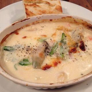 牡蠣のスープグラタン(ターブル ド ペール )