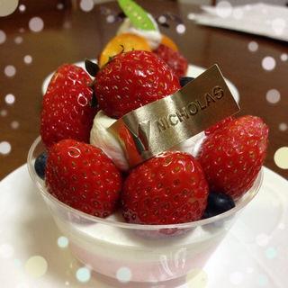 苺のムース(ニコラス洋菓子店)