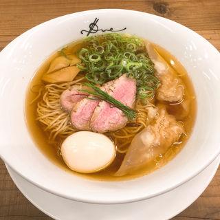 醤油らぁ麺+味玉(ラーメン ドゥエ エド ジャパン)