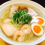 冷しラーメン(大阪麺哲 (メンテツ))