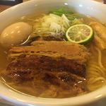 塩味玉チャーシュー麺