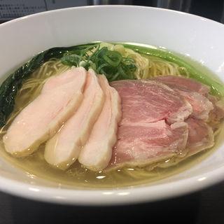 チャーシュー芳醇鶏そば(塩)(麺や福はら)