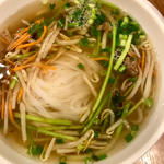 炒め緑野菜と牛肉のパワーフォー