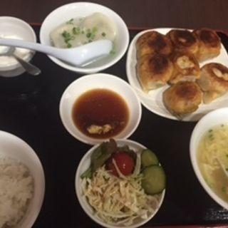 レディース定食(情熱ギョーザ )