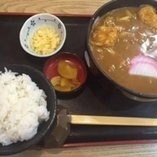 カレーうどんランチ(かとう )