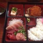 四種定食(まぐろ太郎 )