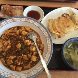 麻婆飯定食(九寨溝 )