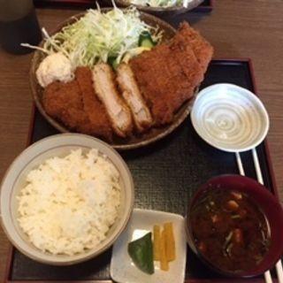 豚ロースカツ定食(とんかつ 新 )