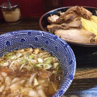 ちゃーしゅーつけ麺(麺心 國もと )