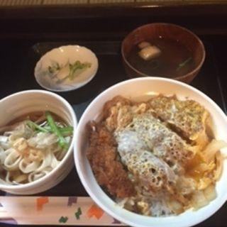 かつ丼+ミニきしめん(ころ)(角竹 )