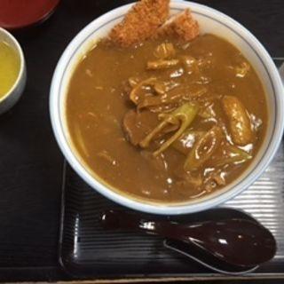 カツカレーうどん(清平 )