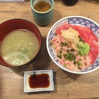 まぐろネギトロ丼(磯丸水産 プリンセス大通り店 )