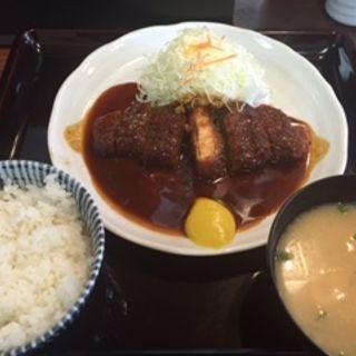 味噌とんかつランチ(矢田とん )