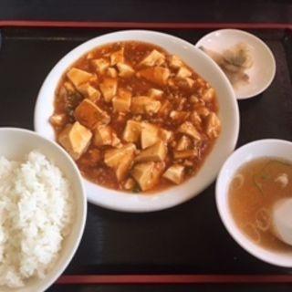 麻婆豆腐定食(大雅 )