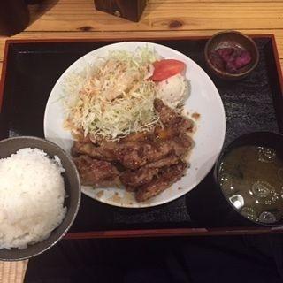 大黒豚テキ定食(大黒 堀内ビル店 )
