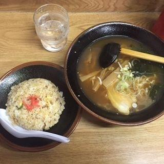 A(らーめん・チャーハンセット)(比那屋 (ひなや))