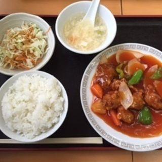 酢豚定食(中華料理 味満園 )