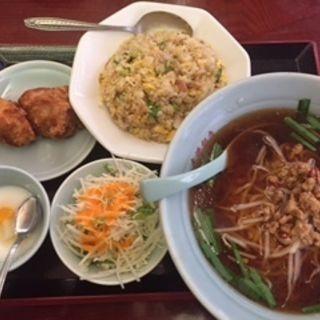 ラーメン定食(大連飯店 大須店 (ダイレンハンテン))