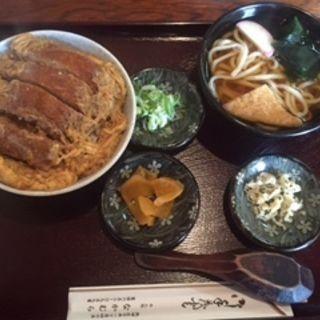 カツ丼セット(めん処なかむら )