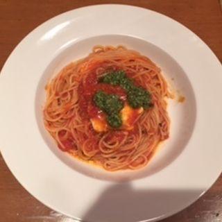 モッツアレラチーズとバジルのトマトソース(パステリアサポーレ (SAPORE))